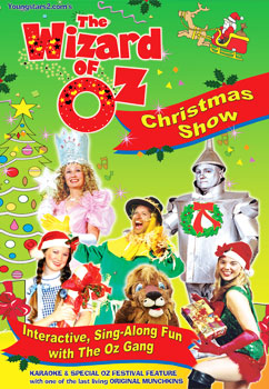 The Wizard of Oz Christmas Show DVD